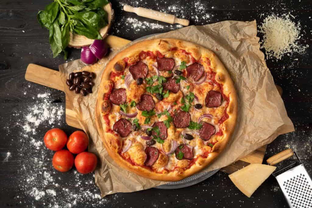 צילום אוכל - פיצה